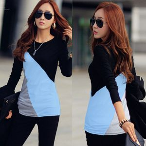 New Stylish Designed Top For Her (Sky Blue)