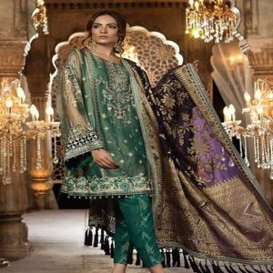 Maria B Mbroidered Chiffon Collection 2018