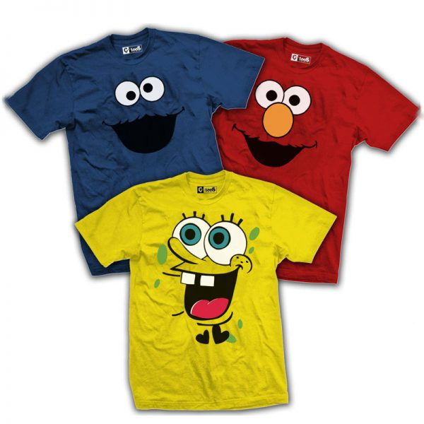 Pack Of 3: Characters Combo 2 By C-Tees