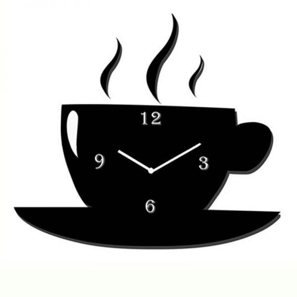 Tea Cup Wall Clock