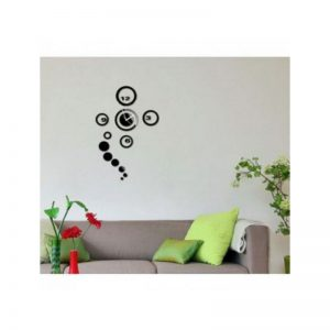Round Shape Rings Wall Clock