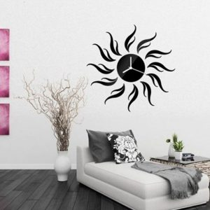 Black Desire Wall Clock