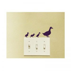 Duck Silhouette Acrylic Wall Art