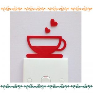 Love Cup Acrylic Wall Art