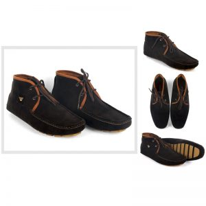 Brown Laces Loafers For Him