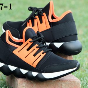 S&J Sports Orange Colored Casual And Formal Shoes (L37-1)
