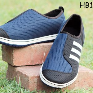 S&J Sports Dark Blue Casual And Formal Shoes (HB-1110-2)