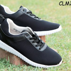 S&J Sports Black Colored Casual And Formal Shoes (CLM245)