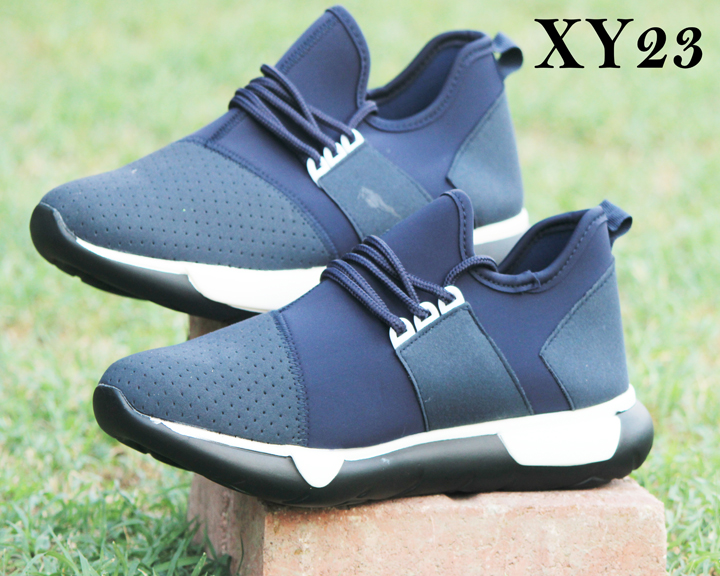 S&J Sports Blue Colored Casual And Formal Shoes (XY23)