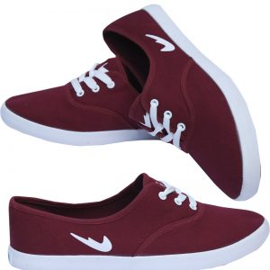 Fashionable Maroon Color Shoes For Him