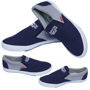 Qiaochi Fashionable Blue And Grey Color Shoes For Him