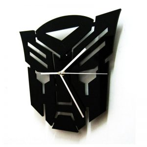 Transformers Design Aclyric Wall Clock