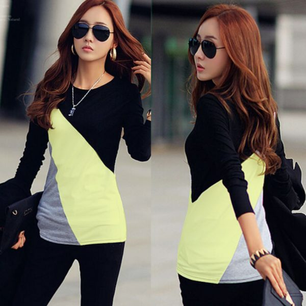 New Stylish Designed Top For Her (Yellow)