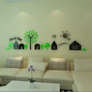 Good Day Aclyric Wall Design - (3 Colors)