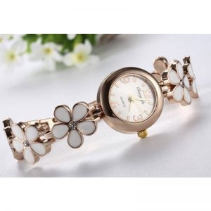 Stylish Flower Design Ladies Watch