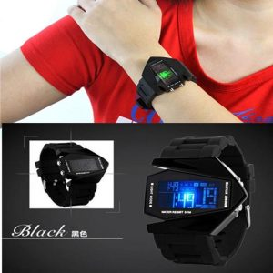 LED Aircraft Shaped Digital Watch(GM)