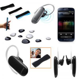 Samsung High-Quality Headset (HM3300) + Free Sling Grip For Your Phone
