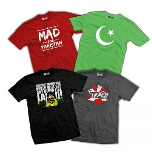 Pack Of 4 Printed T-Shirts