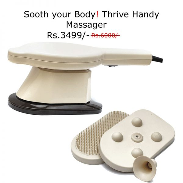 Sooth Your Body! Thrive Handy Massager