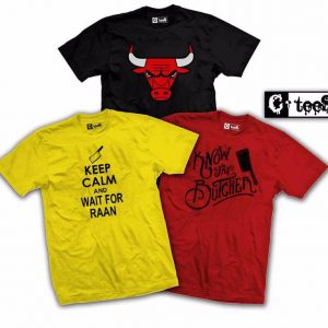Pack Of 3 Super Hero Printed T-Shirts