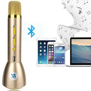 Magic Karaoke KTV-K088 Microphone Wireless Bluetooth Speaker Microphone