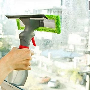 Window Glass Cleaner Double Side Easy Glass Spray Cleaner