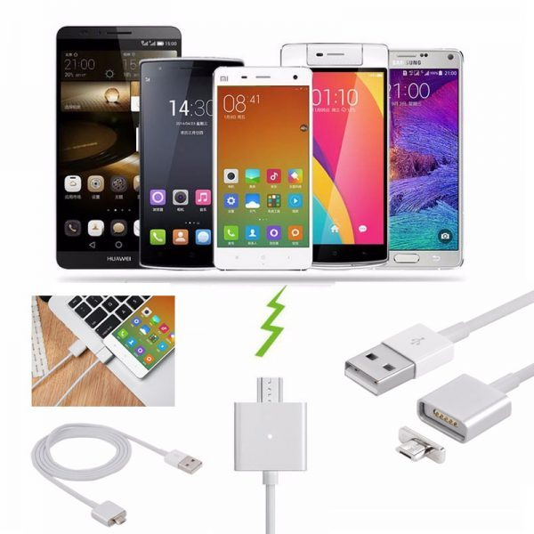 ANDROID / IOS MAGNETIC TO USB CHARGING CABLE