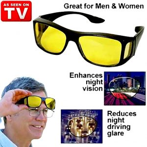 Pack of 2: HD Night Vision Glasses
